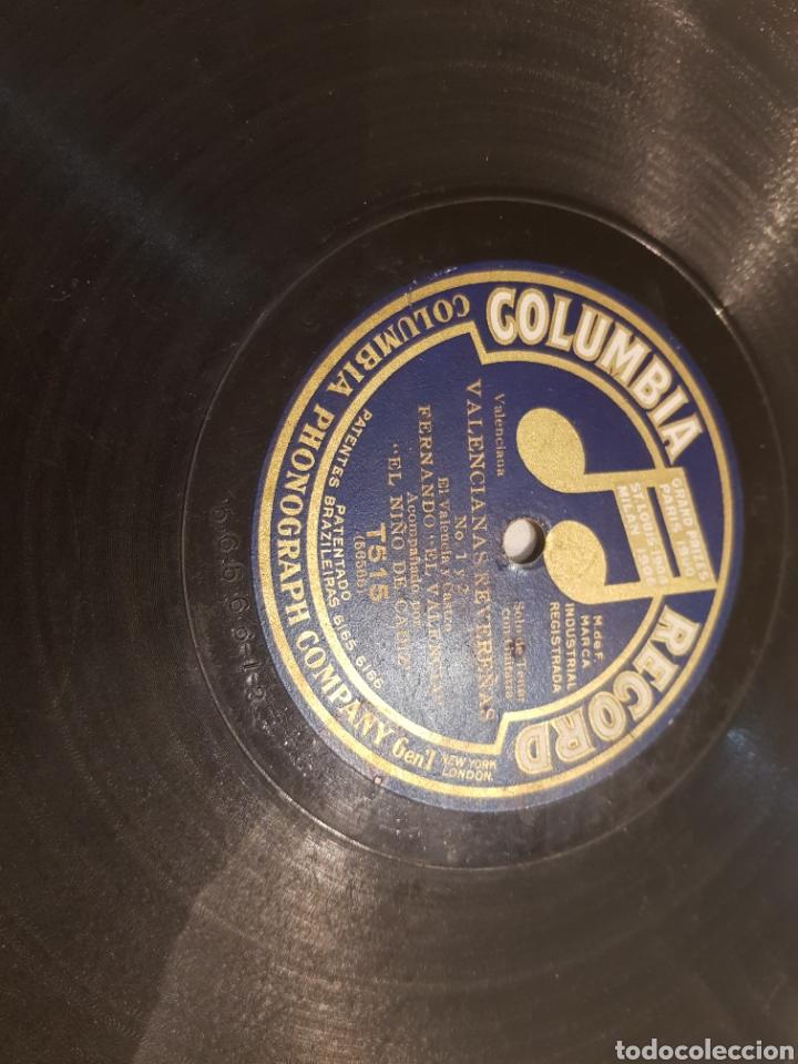 Discos de pizarra: DISCO 78 RPM FERNANDO EL VALENCIA - Foto 2 - 157756253