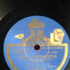 Discos de pizarra: ARRE BORRIQUITO VILLANCICO. Lote 158127264