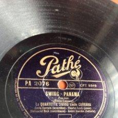 Discos de pizarra: SWING PANAMÁ. Lote 158128862