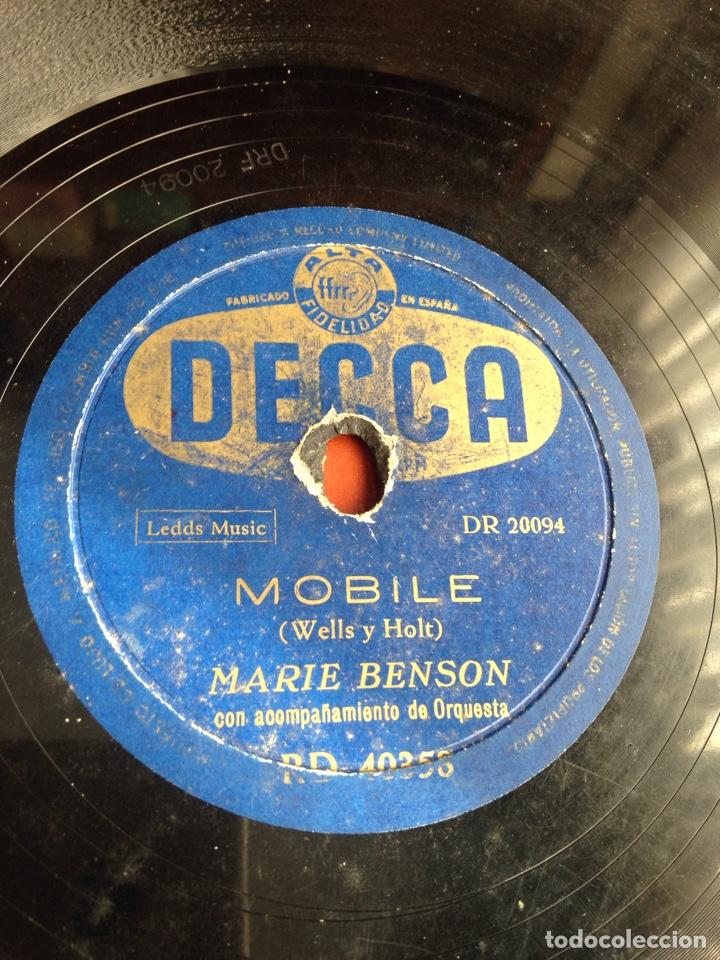 MÓBILE MARIN BENSON (Música - Discos - Pizarra - Clásica, Ópera, Zarzuela y Marchas)