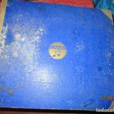 Discos de pizarra: IL TROVATORE ALBUM DISCOS PIZARRA COLECCION COMPLETA. Lote 158131078