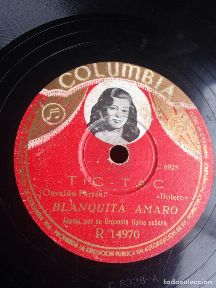 TIC TAC BLANQUITA AMARO (Música - Discos - Pizarra - Flamenco, Canción española y Cuplé)