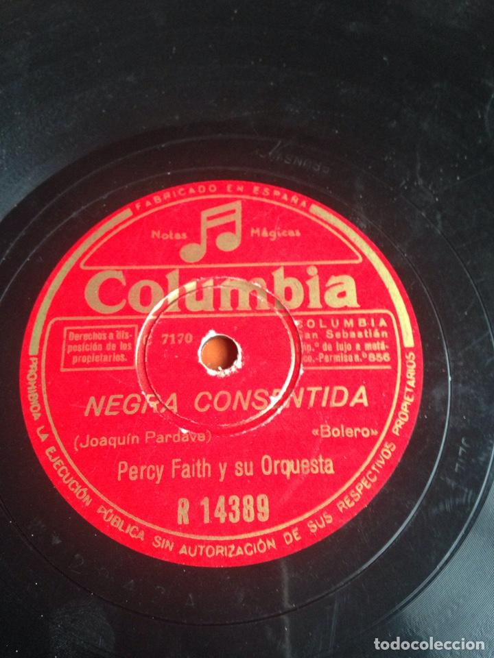 NEGRA CONSENTIDA PERCY FAITH Y SU ORQUESTA (Música - Discos - Pizarra - Flamenco, Canción española y Cuplé)