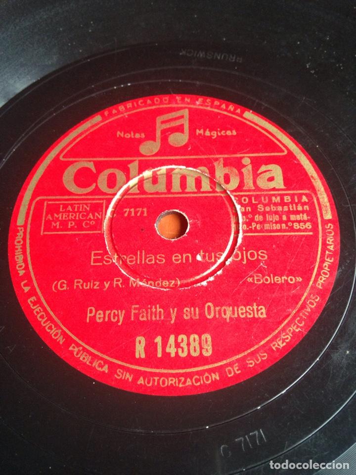 Discos de pizarra: Negra consentida percy faith y su orquesta - Foto 3 - 158263389