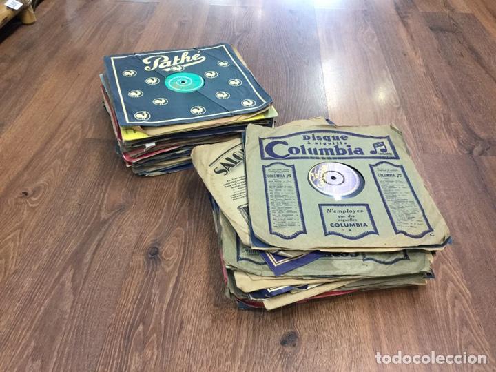 LOTE DISCOS DE PIEDRA O PIZARRA 56 UNIDADES (Música - Discos - Pizarra - Otros estilos)