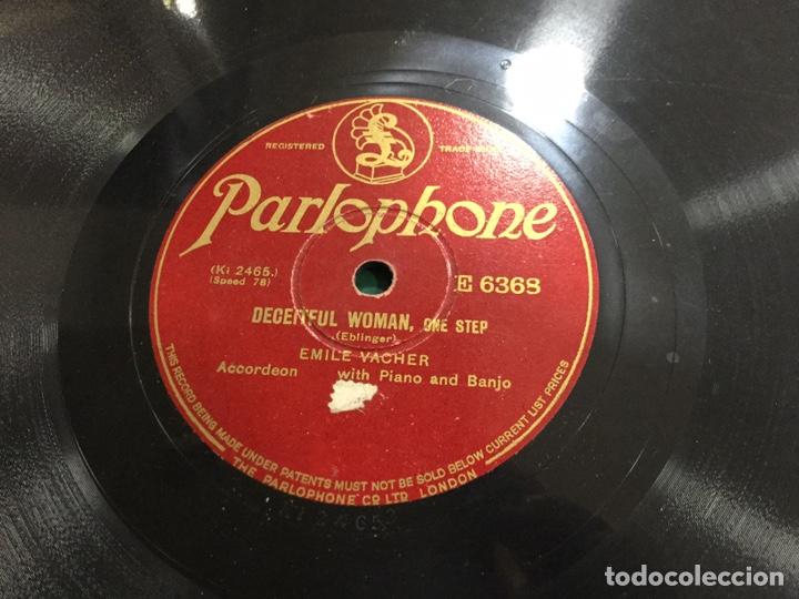 Discos de pizarra: LOTE DISCOS DE PIEDRA O PIZARRA 56 UNIDADES - Foto 44 - 158510392