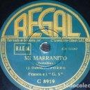 Discos de pizarra: DISCO 78 RPM - REGAL - FRANCO E I G. 5 - MI MARRANITO - PORCELLINO - DUMBO - FIESTA - PIZARRA. Lote 158666750
