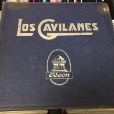 Discos de pizarra: LOS GAVILANES. ÁLBUM ZARZUELA. ODEÓN. 1930 DISCOS DE PIEDRA PIZARRA O SHELLAC PARA GRAMÓFONO 78 RPM. Lote 158669996