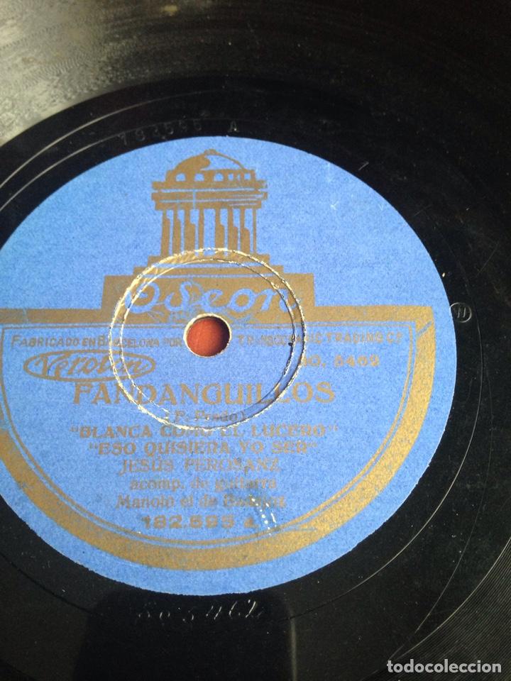 FANDANGUILLOS JESUS PEROSANZ (Música - Discos - Pizarra - Flamenco, Canción española y Cuplé)