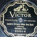 Discos de pizarra: DISCO 78 RPM - VICTOR - VENETIAN TRIO - FLORENTINE QUARTET - INSTRUMENTAL - ITALIA - PIZARRA. Lote 159104018
