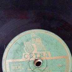 Discos de pizarra: DISCO 78 RPM - CETRA - LUCIANO BENEVENE - CANZONE - FOGLIE MORTE - ... E PIANGO - PIZARRA. Lote 159105318