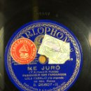Discos de pizarra: DISCO PIZARRA COLUMBIA LOLA CABELLO.ME JURO.MI PASODOBLE. Lote 159163697