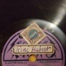 Discos de pizarra: DISCO 78 RPM - RADIO - THE LIDO TANGO BAND - LA CANZONE DI FIGARO - TANGO - ONE STEP - PIZARRA. Lote 159198334