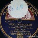 Discos de pizarra: DISCO 78 RPM - VSA - ITALIA VANIGLIO - TRIESTE MIA - GINO LATILLA - VIEJO GONDOLERO - SLOW - PIZARRA. Lote 159233926