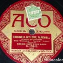 Discos de pizarra: DISCO 78 RPM - ACO - BOBBIE HIND & HIS BAND - VOCALION - FOXTROT - FRASQUITA - LEHAR - PIZARRA. Lote 159276898