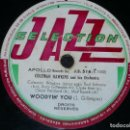 Discos de pizarra: DISCO 78 RPM - APOLLO RECORDS - COLEMAN HAWKINS - ORQUESTA - WOODYIN´ YOU - JAZZ - PIZARRA. Lote 159278070