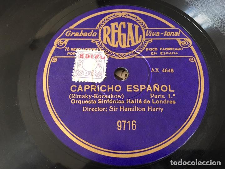 "Discos de pizarra: Disco pizarra ""Capricho Español"" Regal - Foto 2 - 159512413"