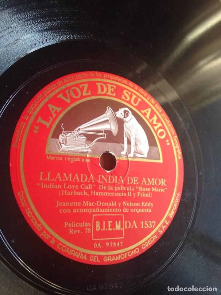 LLAMADA INDIA DE AMOR (Música - Discos - Pizarra - Bandas Sonoras y Actores )