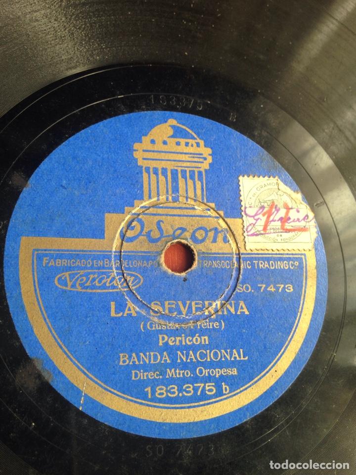 LA SEVERINA PERICON BANDA NACIONAL (Música - Discos - Pizarra - Flamenco, Canción española y Cuplé)