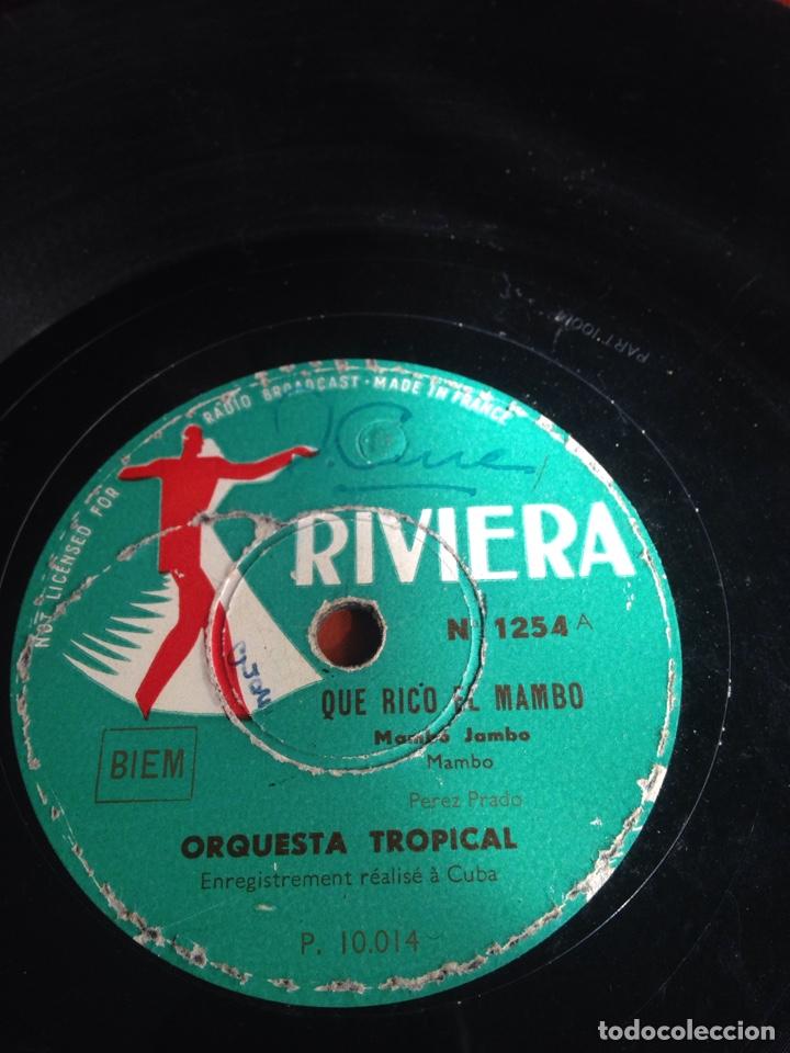 QUE RICO EL MAMBO (Música - Discos - Pizarra - Solistas Melódicos y Bailables)