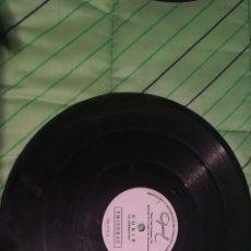 Discos de pizarra: ANTIGUO DISCO DE PIZARRA PUBLICIDAD NORIT EL BORREGUITO Y TINTES IBERIA. MUY RARO. Lote 160299657