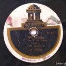 Discos de pizarra: JUAN DE CASANAVE ODEON 150527/8 ZARZUELA 78RPM BOHEMIOS / LOS EMIGRANTES. Lote 160534742