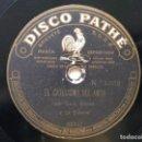 Discos de pizarra: LUIS ESTESO Y LA CIBELES PATHE 1008 78RPM EL CATECISMO DEL AMOR / CHISTE. Lote 160535390