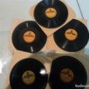 Discos de pizarra: ODEONETTE: 5 DISCOS EN OFERTA - MUY BUEN ESTADO- PIZARRA PARA TOCADISCOS 78- MINIATURAS. Lote 160601258