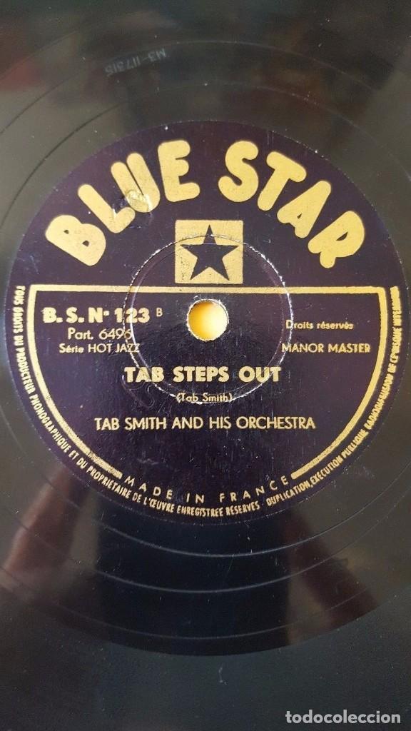 Discos de pizarra: DISCO 78 RPM - BLUE STAR - COLEMAN HAWKINS - ALL STAR BAND - JAZZ - TAB SMITH - ORQUESTA - PIZARRA - Foto 2 - 160621366