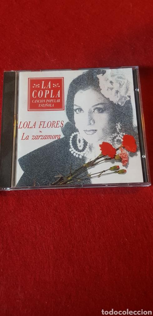 LA COPLA LOLA FLORES LA ZARZAMORA (Música - Discos - Pizarra - Solistas Melódicos y Bailables)