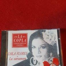 Discos de pizarra: LA COPLA LOLA FLORES LA ZARZAMORA. Lote 160985626