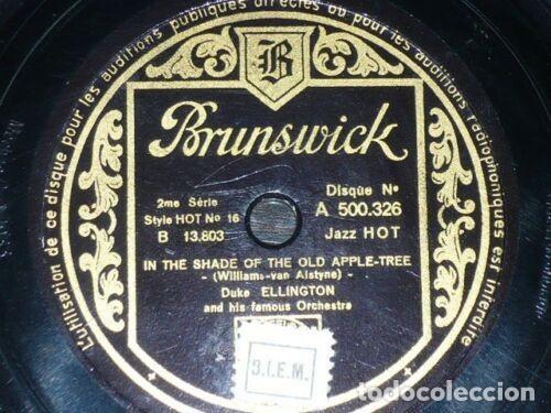Discos de pizarra: DISCO 78 RPM - BRUNSWICK - DUKE ELLINGTON - ORQUESTA - JAZZ HOT - HARLEM SPEAKS - PIZARRA - Foto 2 - 161082582