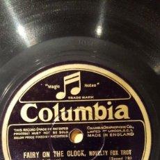 Discos de pizarra: DISCO 78 RPM - COLUMBIA - DEBROY SOMERS BAND - JACK PAYNE - ORQUESTA - FOXTROT - PIZARRA. Lote 161616370