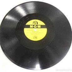 Discos de pizarra: DISCO PIZARRA. MGM. 8210. TERESA / AVE DEL PARAISO. MACKLIN MARROW. Lote 161621194