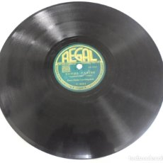 Discos de pizarra: DISCO PIZARRA. REGAL. C8882. LA CHICA CON ACENTO ESPAÑOL / NOCHE CARIBE.. Lote 161621354
