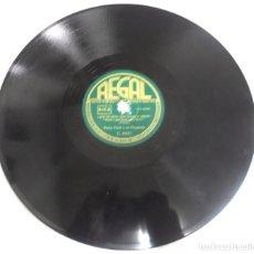 Discos de pizarra: DISCO PIZARRA. REGAL. C8937. ¿QUE ES ESTO QUE LLAMAN AMOR? / SAMBA DEL MINUTO. Lote 161621590