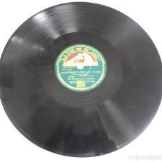 Discos de pizarra: DISCO PIZARRA. LA VOZ DE SU AMO. GY 960. LABIOS ROJOS / CONTONEO POR LA CALLE.. Lote 161625302