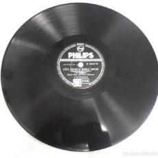 Discos de pizarra: DISCO DE PIZARRA. PHILIPS. B 21047 H. UNA MUSICA PARA AMAR / CUANDO VIENE EL PETIRROJO. Lote 161627790