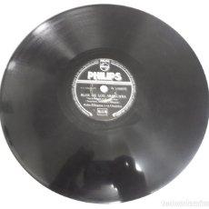 Discos de pizarra: DISCO DE PIZARRA. PHILIPS. B 21020 H. BLUE DE LOS ARRECIFES / LA CANCION DEL AURA. Lote 161628146