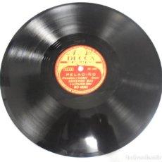 Discos de pizarra: DISCO DE PIZARRA. DECCA. RD 40252. DELICADO / PELADIÑO.. Lote 161631534
