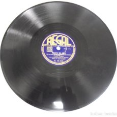 Discos de pizarra: DISCO DE PIZARRA. REGAL. C 10028. EMPEZAD LA BEGUINE / TODO EL DIA.. Lote 161632618