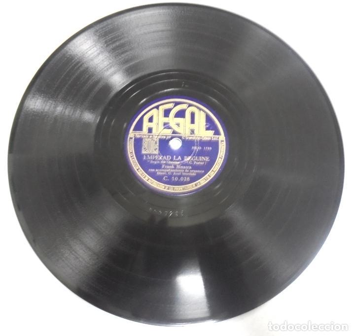 Discos de pizarra: DISCO DE PIZARRA. REGAL. C 10028. EMPEZAD LA BEGUINE / TODO EL DIA. - Foto 2 - 161632618
