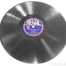 Discos de pizarra: DISCO DE PIZARRA. REGAL. C 10054. CITA EN LA NOCHE / LO QUE HICIMOS EL VERANO PASADO.. Lote 161633282