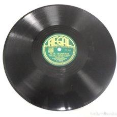 Discos de pizarra: DISCO DE PIZARRA. REGAL. C 8875. FLAMENCO / SI ME ABANDONAS. Lote 161634038