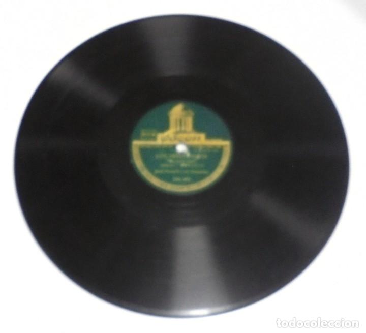 Discos de pizarra: DISCO DE PIZARRA. ODEON. 204493. LOS PREGONEROS / TREN NOCTURNO. - Foto 2 - 161639134