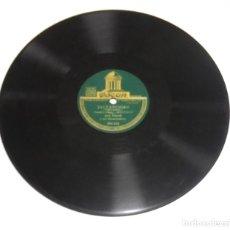 Discos de pizarra: DISCO DE PIZARRA. ODEON. 204543. JACTANCIOSO / DRAGNET. Lote 161640290