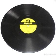 Discos de pizarra: DISCO DE PIZARRA. MGM. 115. CAMPIÑA INDOLENTE / PERDONANDOTE. Lote 161648926