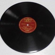 Discos de pizarra: DISCO DE PIZARRA. COLUMBIA. R 24003. ABRIL EN PORTUGAL / RAMONA. Lote 161650246