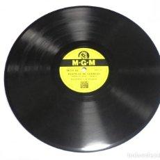 Discos de pizarra: DISCO PIZARRA. MGM 103. FESTIVAL DE CUERDAS / LAURA. Lote 161654566