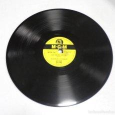 Discos de pizarra: DISCO PIZARRA. MGM 116. ESTRELLITA / DANZA DE LA PLAZA MANHATTAN. Lote 161739826